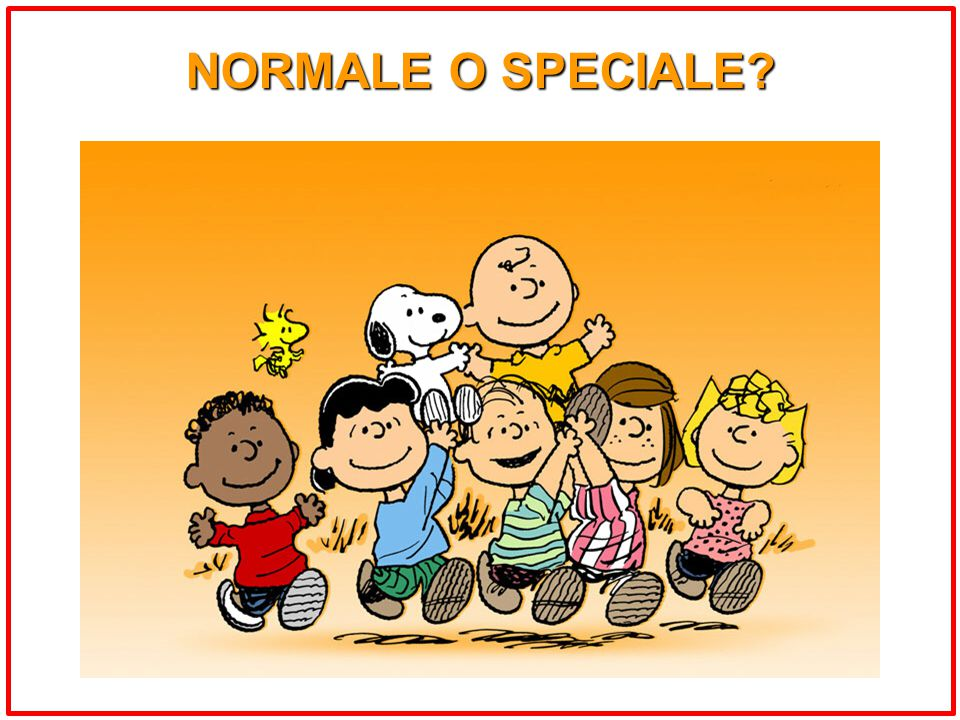 NORMALE O SPECIALE?