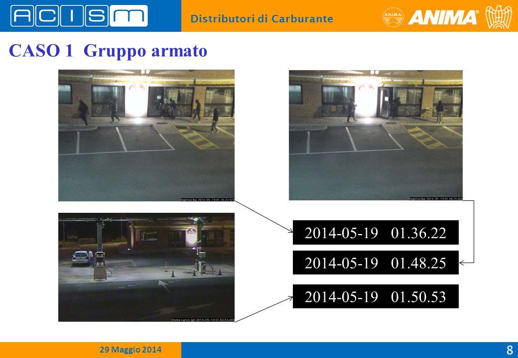Distributori di Carburante 9 15 Febbraio 2012 29 Maggio 2014 CASO 1 Gruppo armato