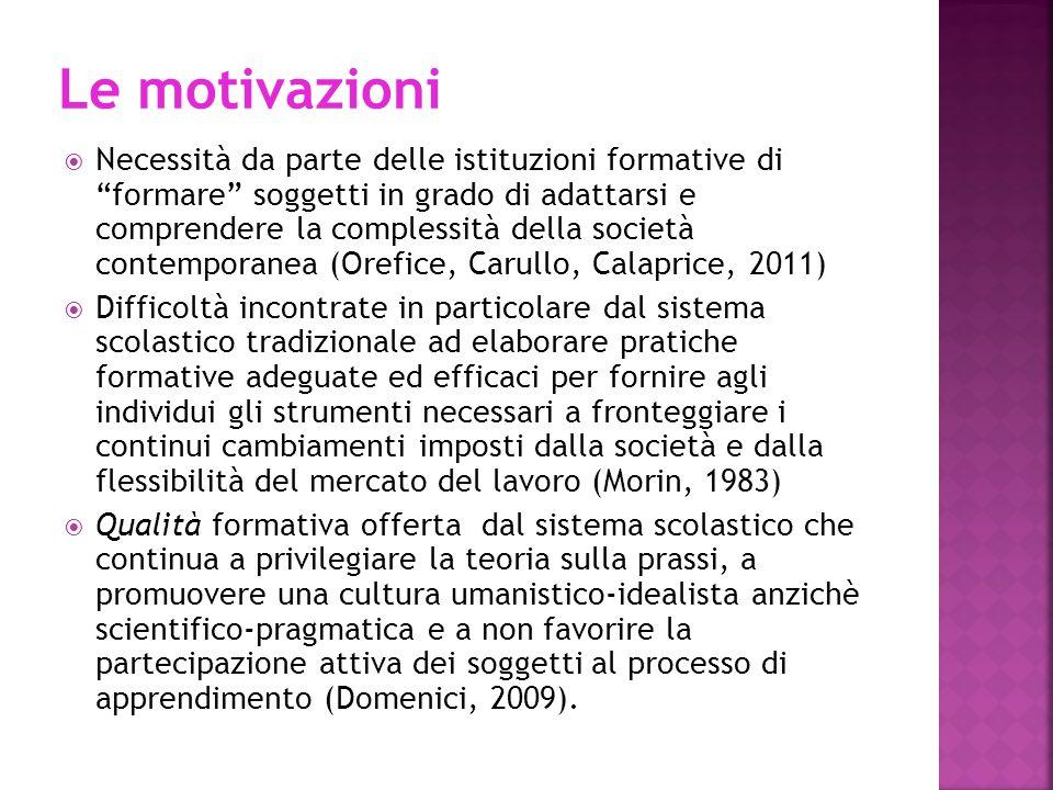 Delors (1995) aveva assegnato alla scuola proprio il compito primario di insegnare ad imparare ad imparare per tutta la vita, con l'obiettivo di favorire lo sviluppo del pensiero critico e di competenze metacognitive trasferibili in diversi contesti (Pellerey, 2007).