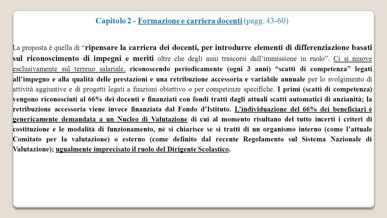 Capitolo 2 - Formazione e carriera docenti (pagg.