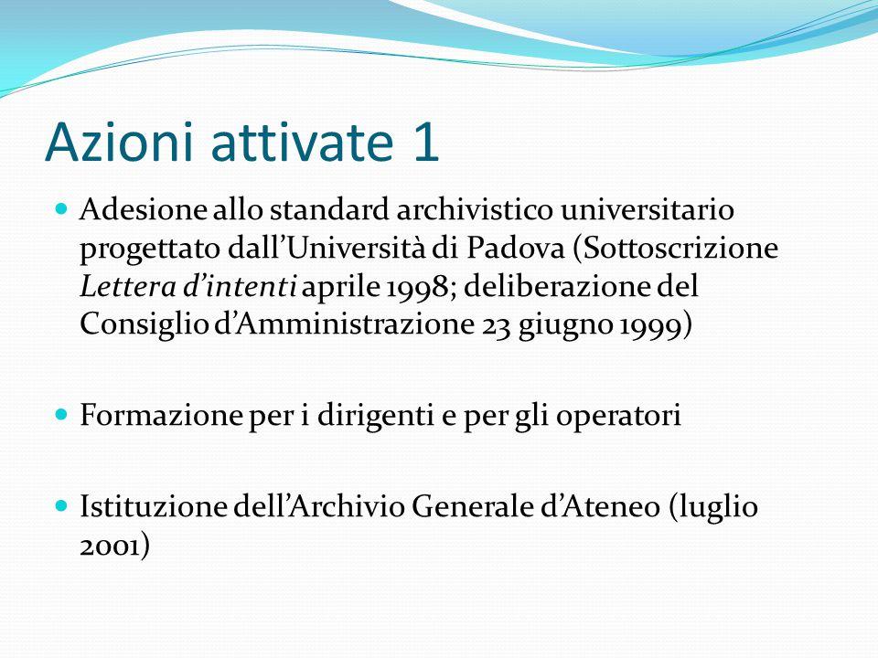 Archivio di deposito Iuav Monica Martignon per COINFO47