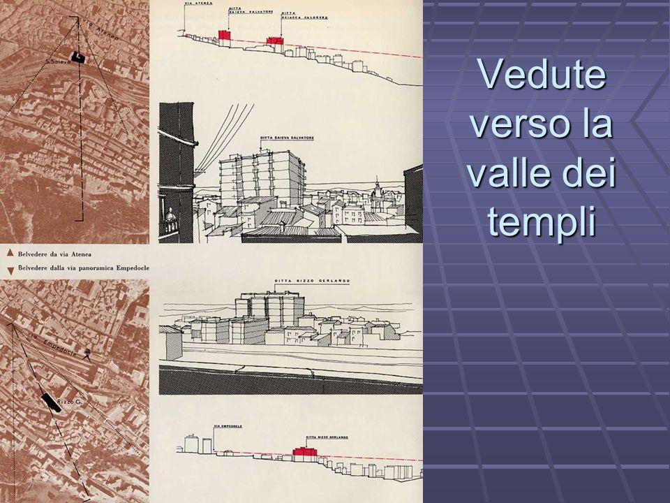 Vedute verso la valle dei templi