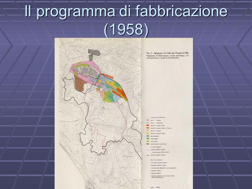Il programma di fabbricazione (1958)
