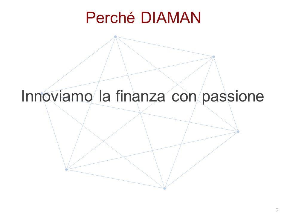 Perché DIAMAN Innoviamo la finanza con passione 2