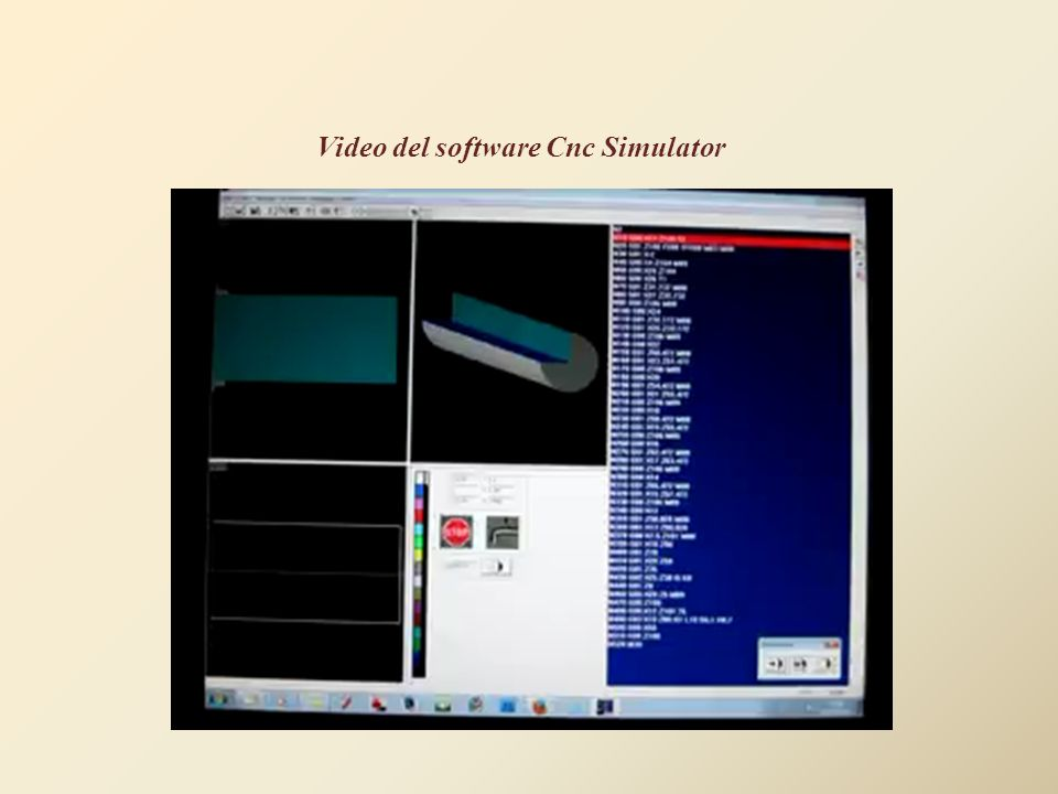 Video del software Cnc Simulator