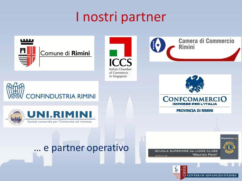 I nostri partner 10 … e partner operativo