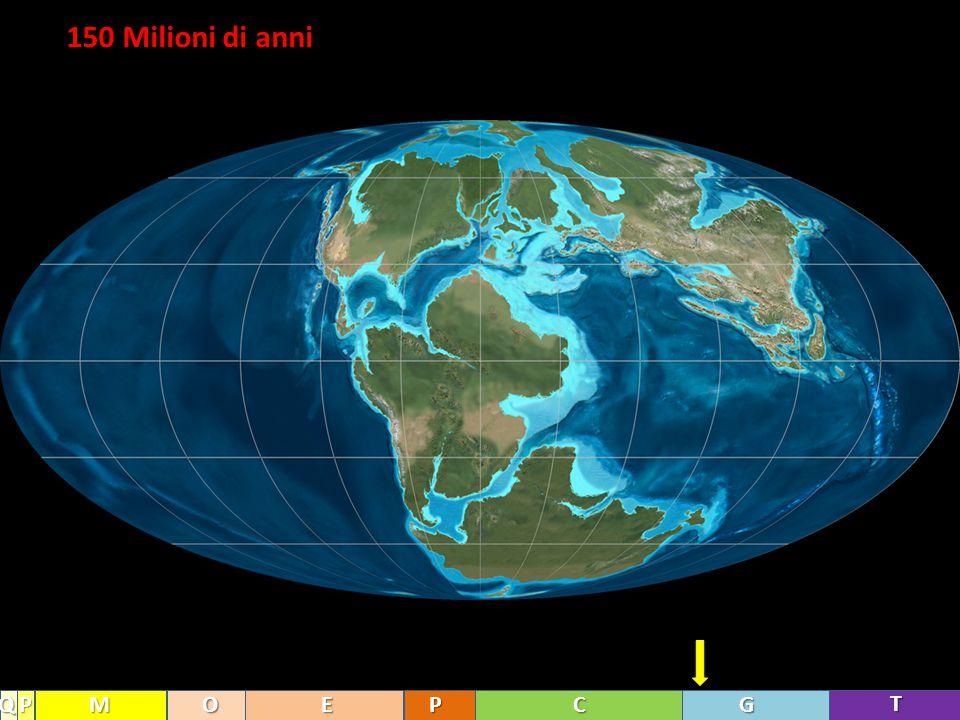 150 Milioni di anni T GCPEOMPQ