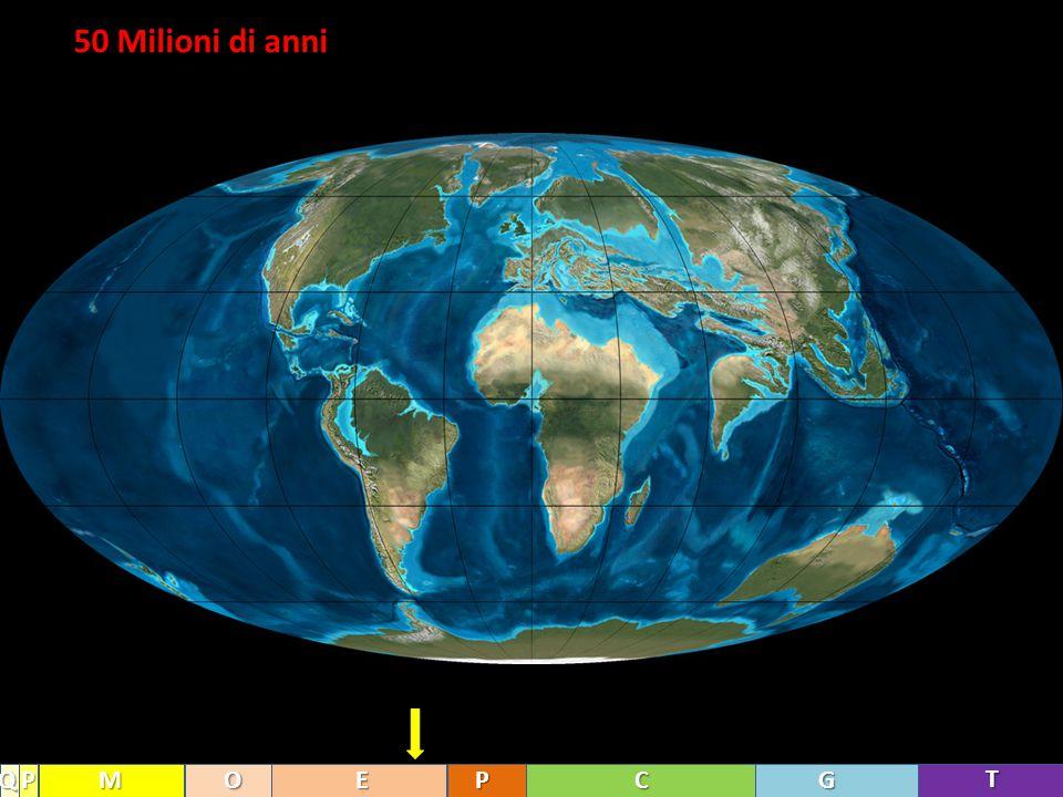 50 Milioni di anni T GCPEOMPQ
