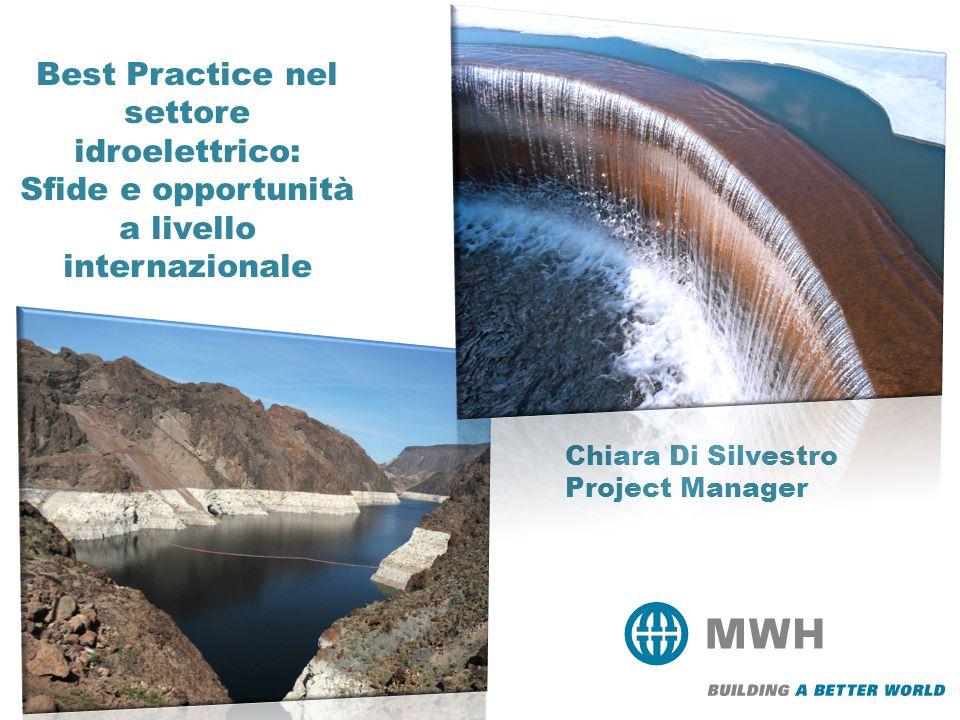 Chiara Di Silvestro Project Manager Best Practice nel settore idroelettrico: Sfide e opportunità a livello internazionale