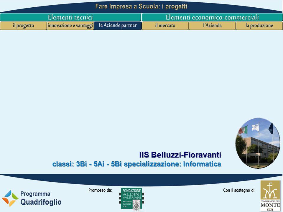 IIS Belluzzi-Fioravanti classi: 3Bi - 5Ai - 5Bi specializzazione: Informatica Marketing L impresa presenta un catalogo di prodotti informatizzati , inteso non come catalogo per la vendita ai privati, ma per l'integrazione con prodotti di altre aziende.