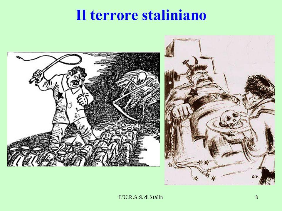 L U.R.S.S. di Stalin8 Il terrore staliniano