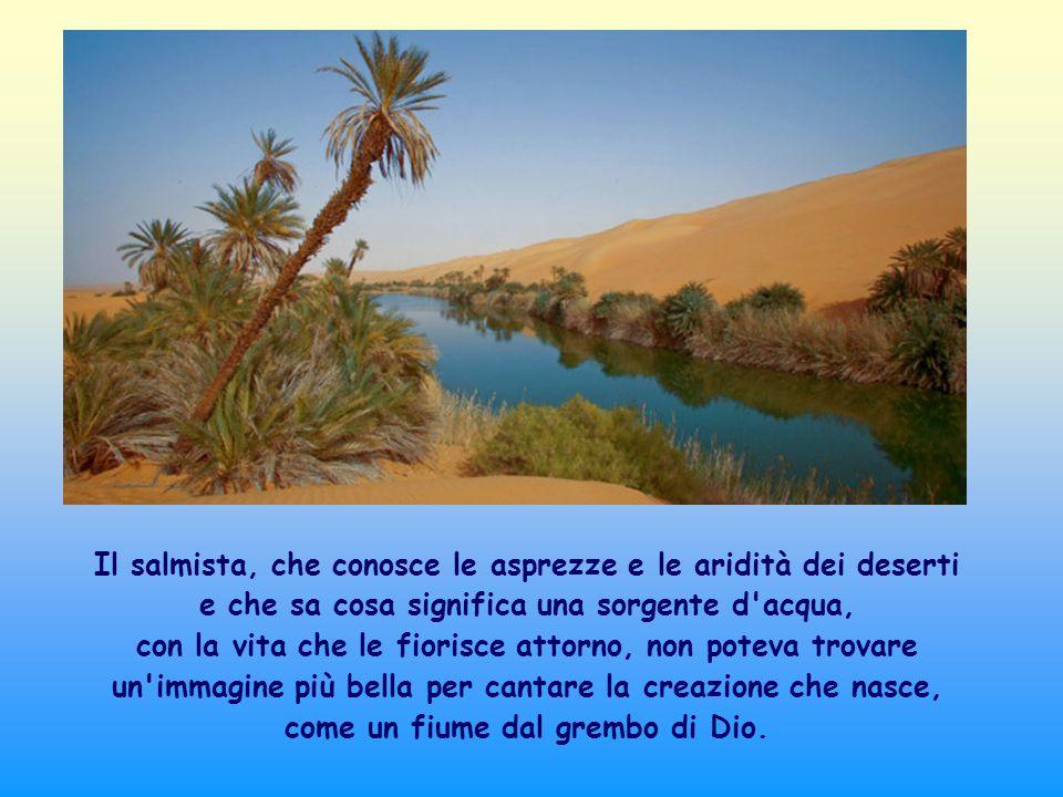 Un altra fonte cui attingere l acqua viva della presenza di Dio è il fratello, la sorella.