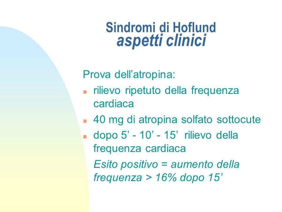 Sindromi di Hoflund stenosi funzionale anteriore (e conservata attività rumino-reticolare) Aspetti clinici - ESAME RETTALE - previo sollevamento del p