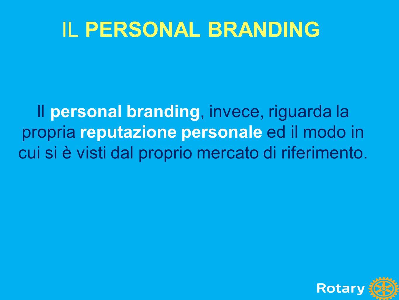 Il personal branding, invece, riguarda la propria reputazione personale ed il modo in cui si è visti dal proprio mercato di riferimento. IL PERSONAL B
