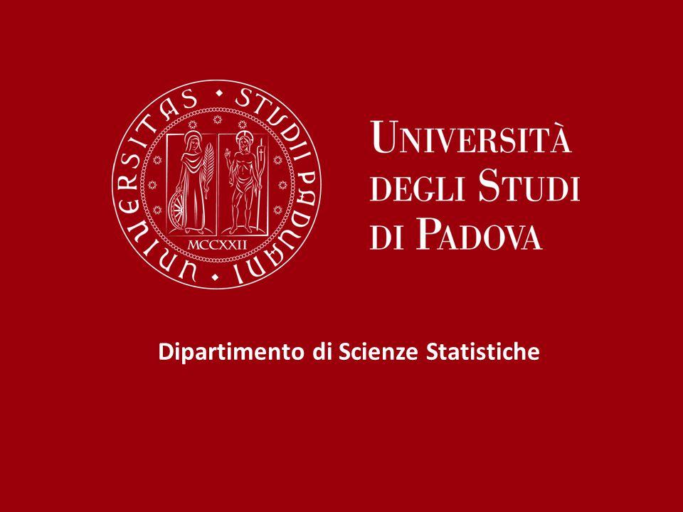 Dipartimento di Scienze Statistiche