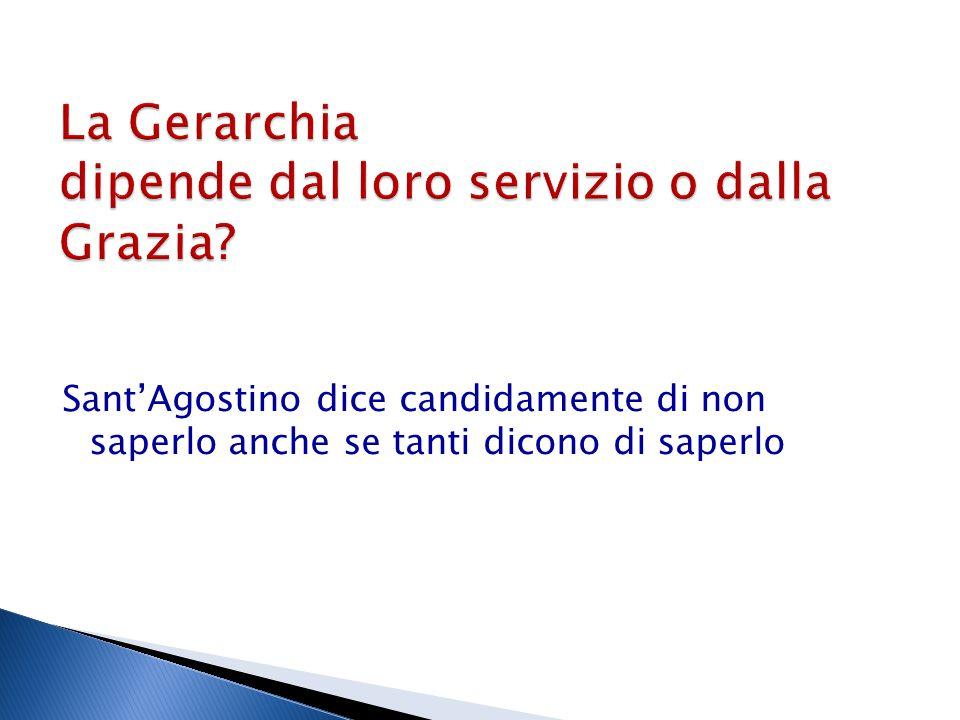 Sant'Agostino dice candidamente di non saperlo anche se tanti dicono di saperlo