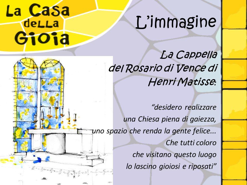 """L'immagine La Cappella del Rosario di Vence di Henri Matisse : """"desidero realizzare una Chiesa piena di gaiezza, uno spazio che renda la gente felice."""