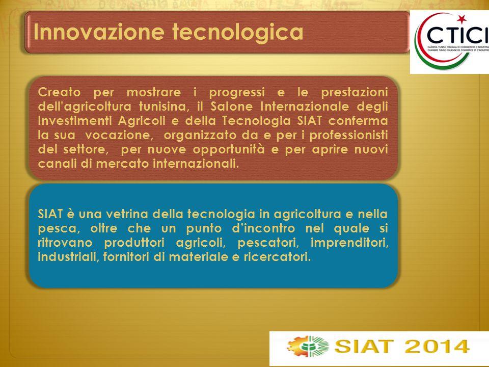Eventi Esposizione della tecnologia e degli sviluppi della ricerca nei settori dell agricoltura, alimentazione, pesca e servizi ad essi associati.