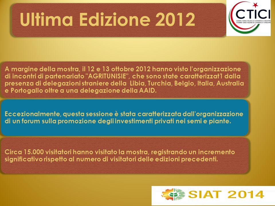 Spazio Italia L'Italia sarà Ospite d'Onore al SIAT 2014 come migliore investitore nel 2013.