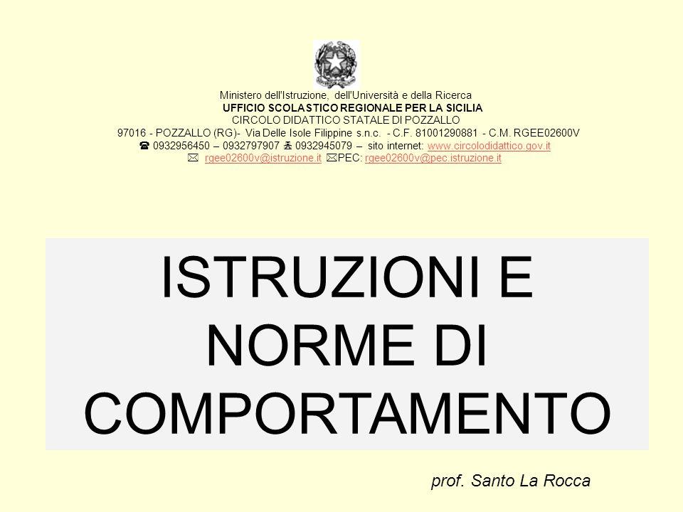Ministero dell'Istruzione, dell'Università e della Ricerca UFFICIO SCOLASTICO REGIONALE PER LA SICILIA CIRCOLO DIDATTICO STATALE DI POZZALLO 97016 - P