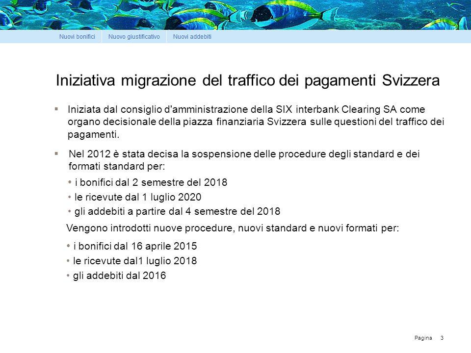 Pagina Iniziativa migrazione del traffico dei pagamenti Svizzera 3  Iniziata dal consiglio d amministrazione della SIX interbank Clearing SA come organo decisionale della piazza finanziaria Svizzera sulle questioni del traffico dei pagamenti.