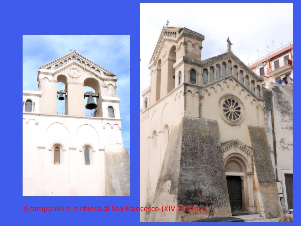 Il campanile e la Chiesa di Santa Maria delle Grazie (XVII-XX sec.)
