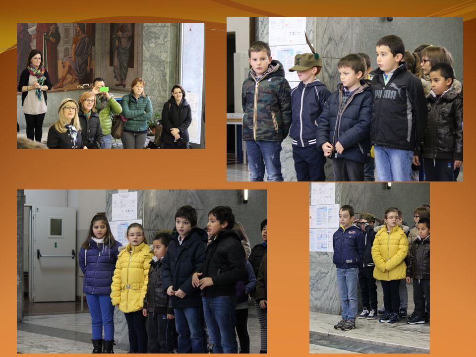 Per Concludere questa importantissima giornata abbiamo cantato il nostro inno «La canzone degli Italiani», meglio conosciuta come «FRATELLI D'ITALIA»