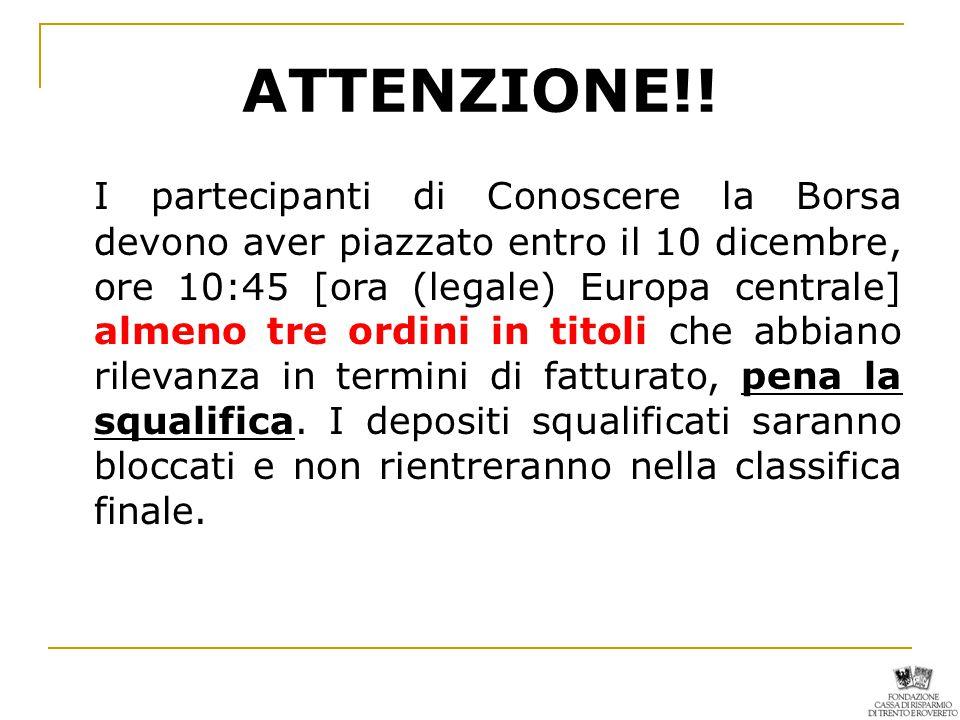 ATTENZIONE!.