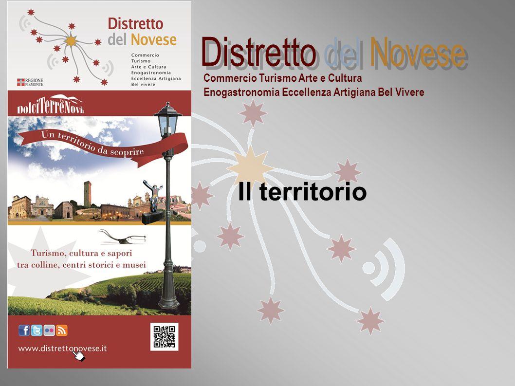 """""""Distretti commerciali sperimentali della Regione Piemonte: la realtà novese"""" Commercio Turismo Arte e Cultura Enogastronomia Eccellenza Artigiana Bel"""