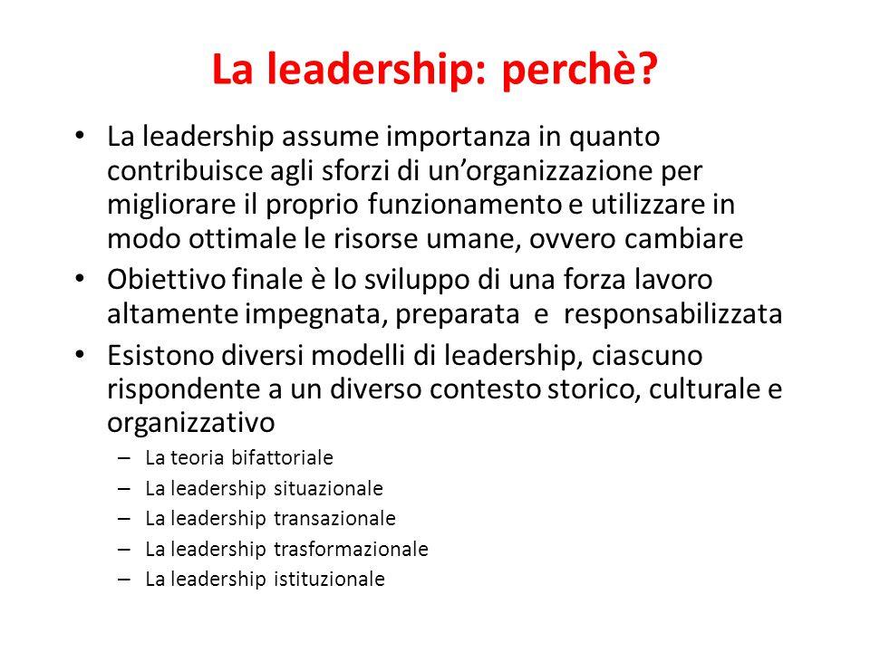 La leadership: modelli, applicazioni e implicazioni organizzative A cura di Eliana Minelli Università Carlo Cattaneo – LIUC