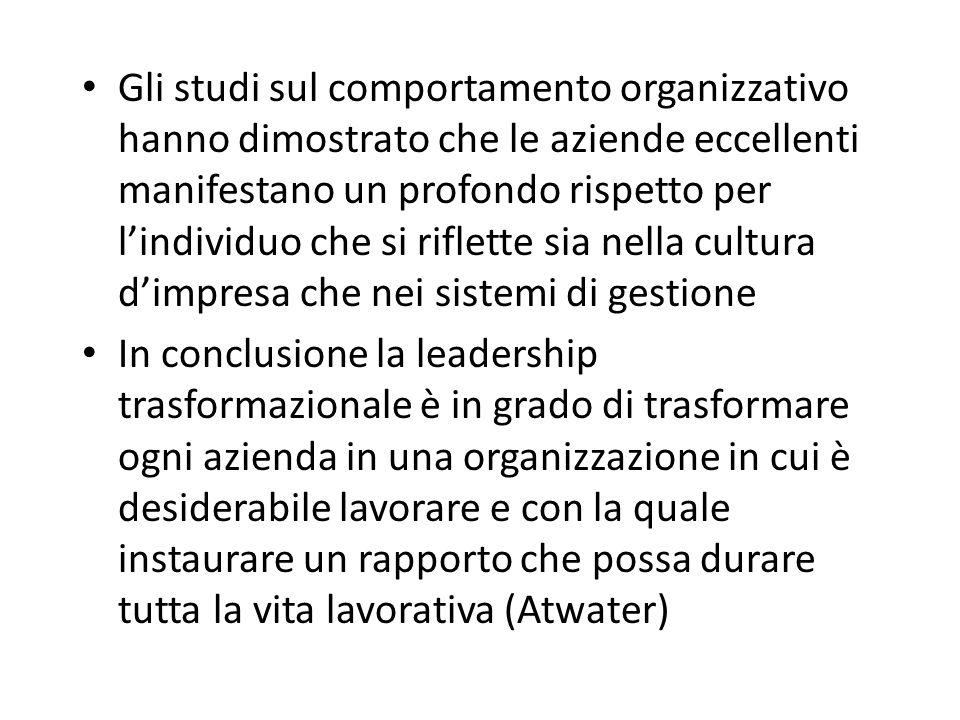 """Cambiamento e leadership a tutto campo Il modello della leadership """"a tutto campo"""" è efficace nel processo di cambiamento perché: – Rafforza le capaci"""