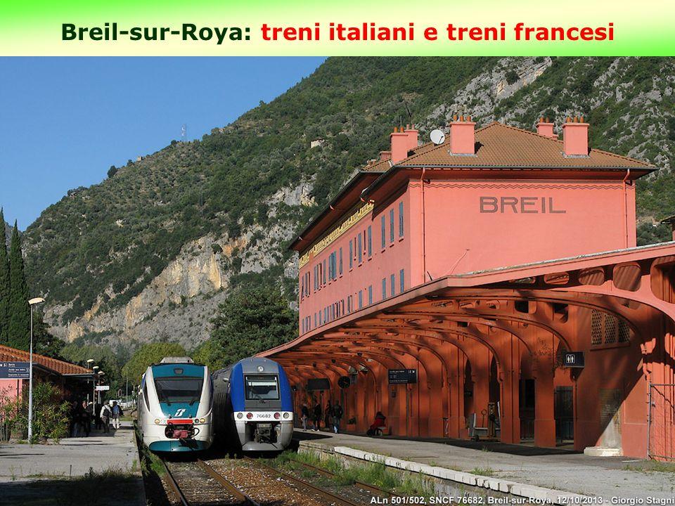 Breil-sur-Roya: treni italiani e treni francesi 13