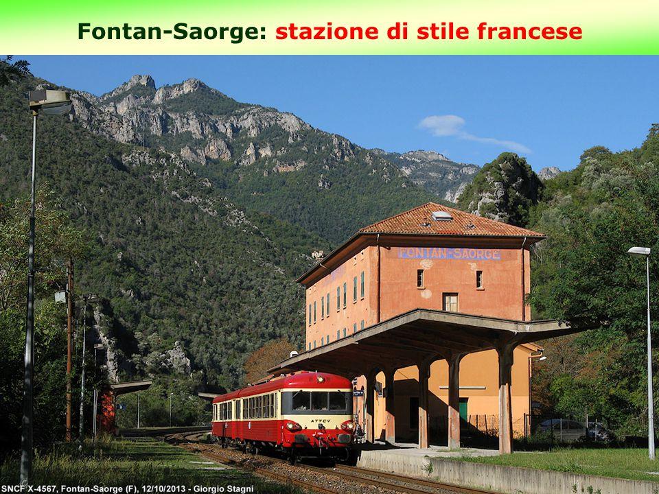 Fontan-Saorge: stazione di stile francese 15