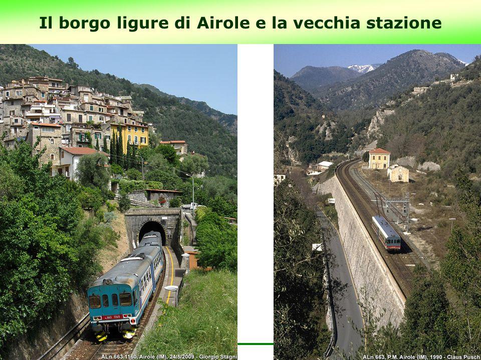 Il borgo ligure di Airole e la vecchia stazione 18