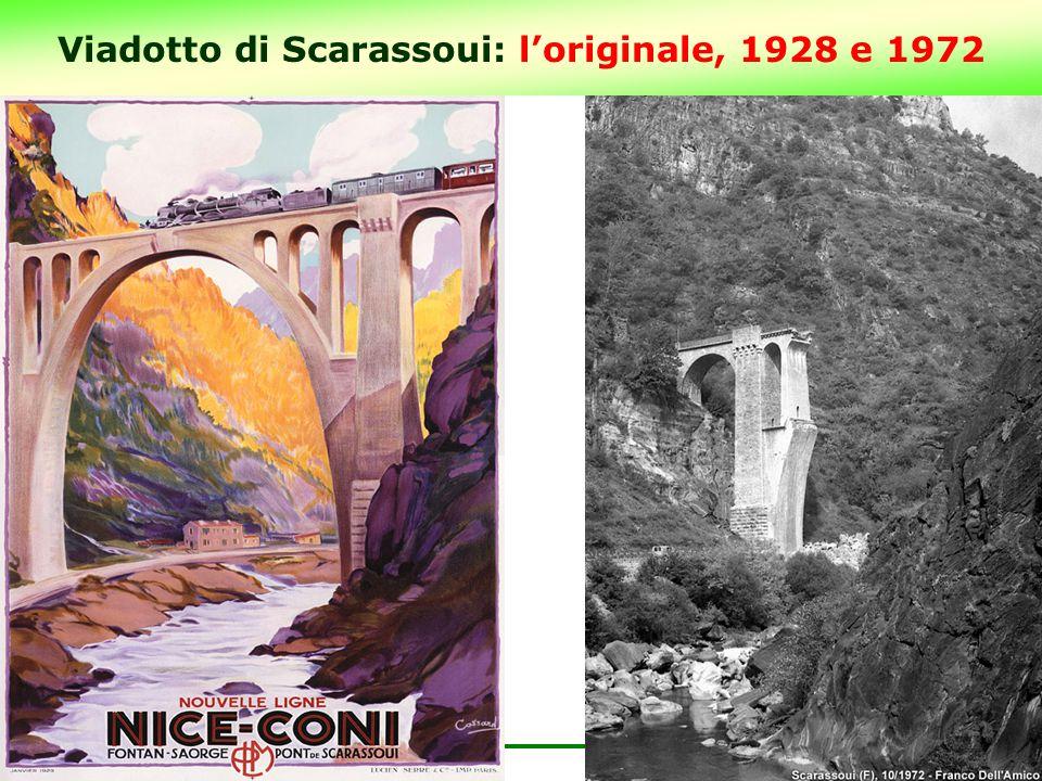 Viadotto di Scarassoui: l'originale, 1928 e 1972 5