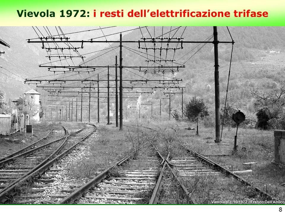 Vievola 1972: i resti dell'elettrificazione trifase 8