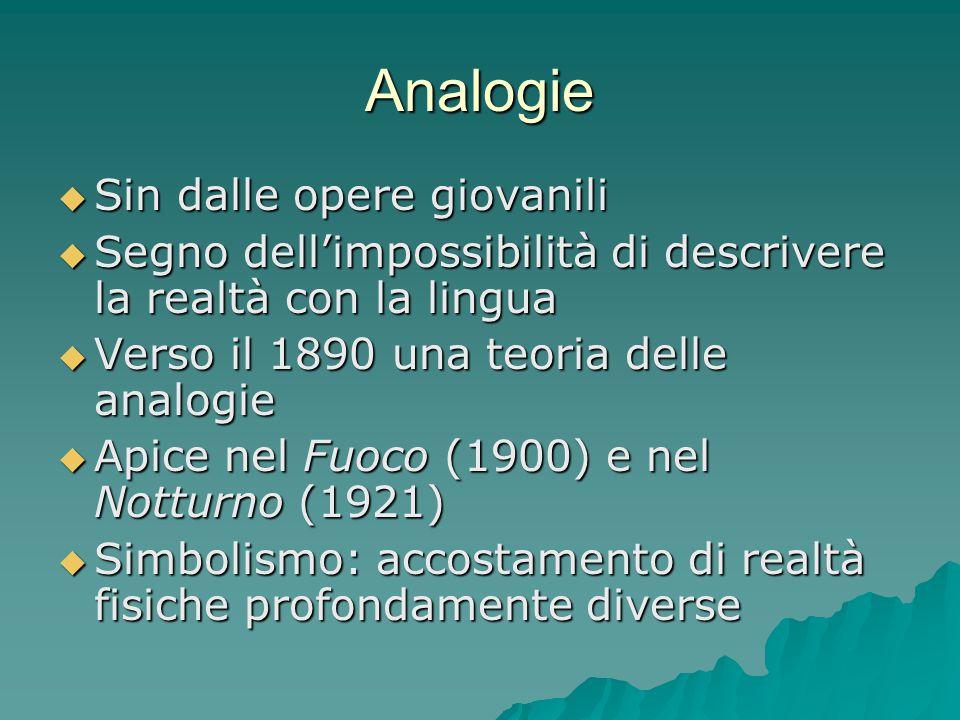 Metafora e similitudine  Metafora: A = B  Similitudine: A è come B  Alla base la stessa concezione: due cose hanno qualcosa in comune  Similitudine: figura di prosa  Metafora: figura di poesia  Nella narrativa prevalgono le similitudini