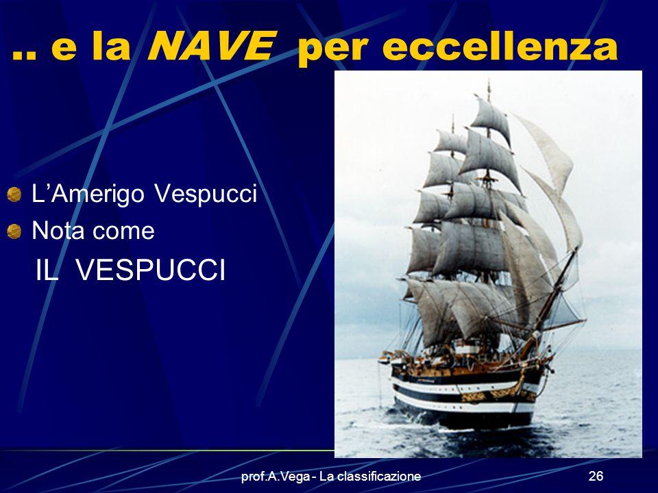 prof.A.Vega - La classificazione25 Altre immagini della Cavour