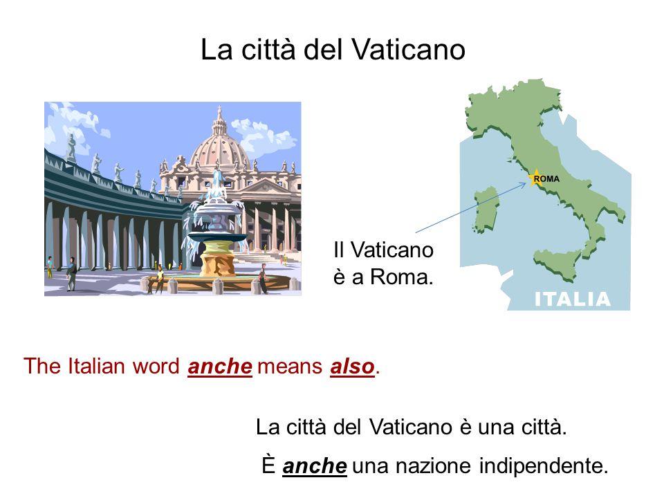 una città New York è una città negli Stati Uniti. È una grande città. The Italian word grande means big.