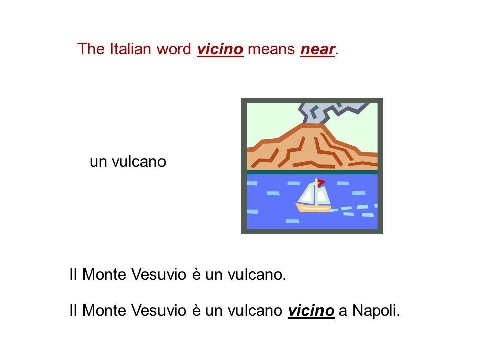 una montagna Le Alpi sono una catena (chain) di montagne. Le Alpi sono al nord dell'Italia.