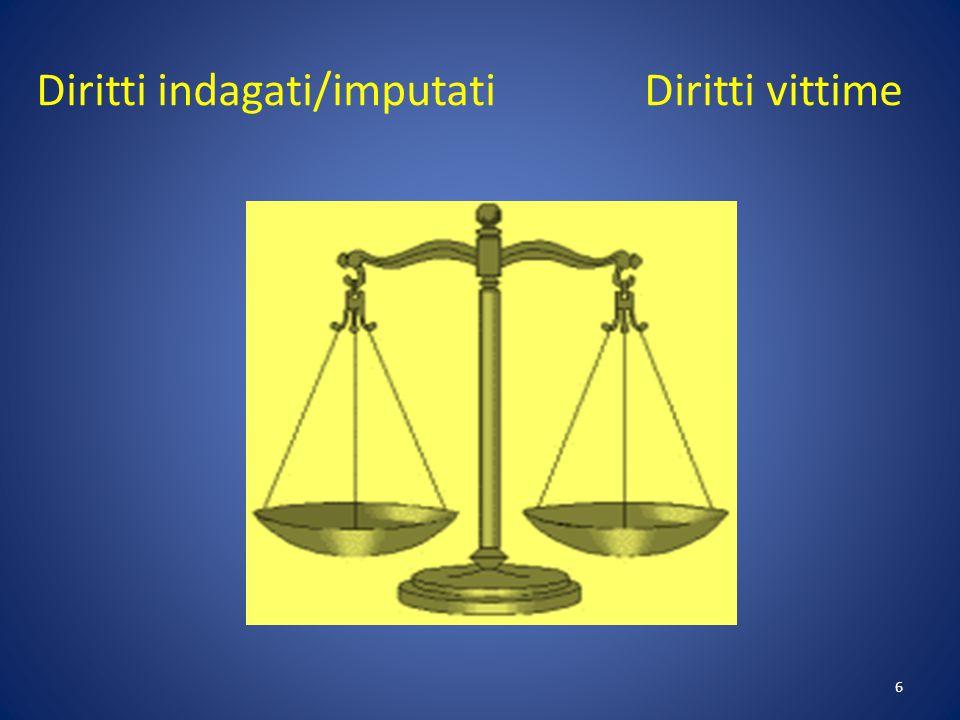 7 Roadmap per il rafforzamento dei diritti processuali degli indagati e imputati nei procedimenti penali (novembre 2009)