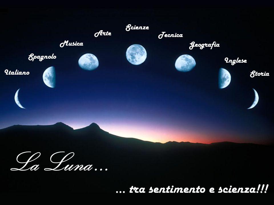 La Luna … … tra sentimento e scienza!!.