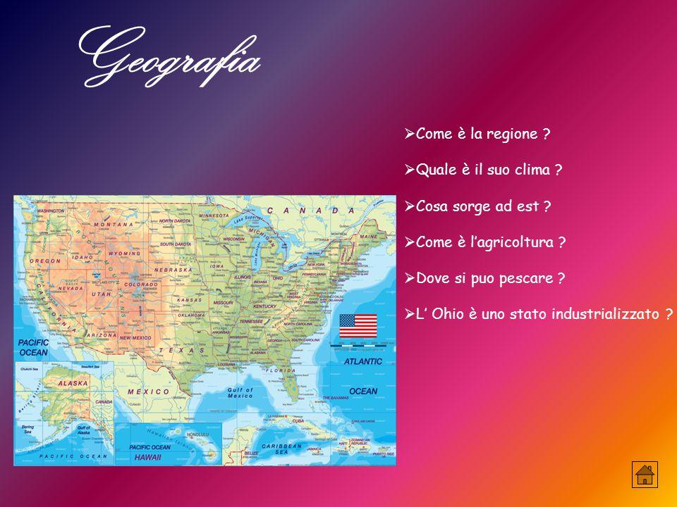 Geografia  Come è la regione . Quale è il suo clima .