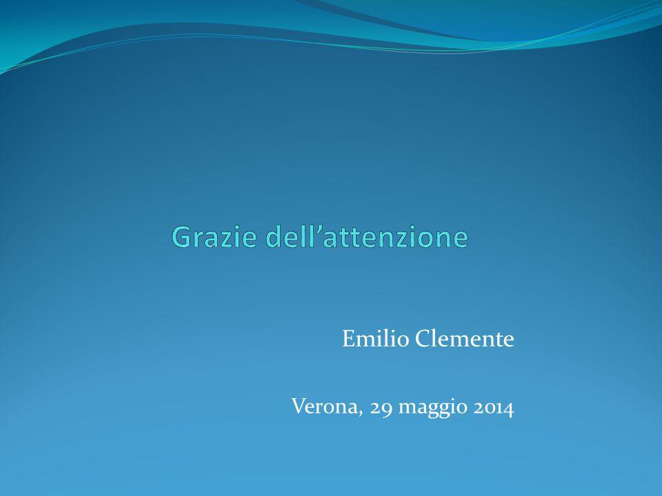 Emilio Clemente Verona, 29 maggio 2014