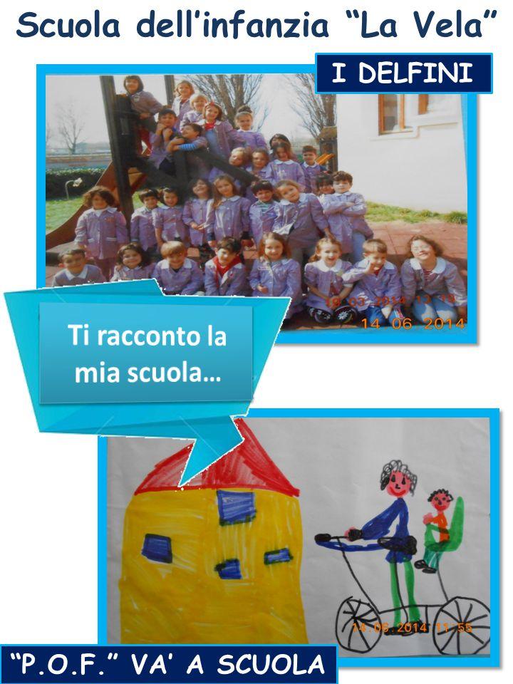 """Scuola dell'infanzia """"La Vela"""" I DELFINI """"P.O.F."""" VA' A SCUOLA"""