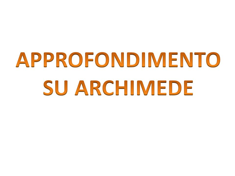 A parit à di forma e di peso dell ' oggetto, la spinta di Archimede dipende dalla natura del liquido in cui viene immerso l ' oggetto. Il galleggiamen