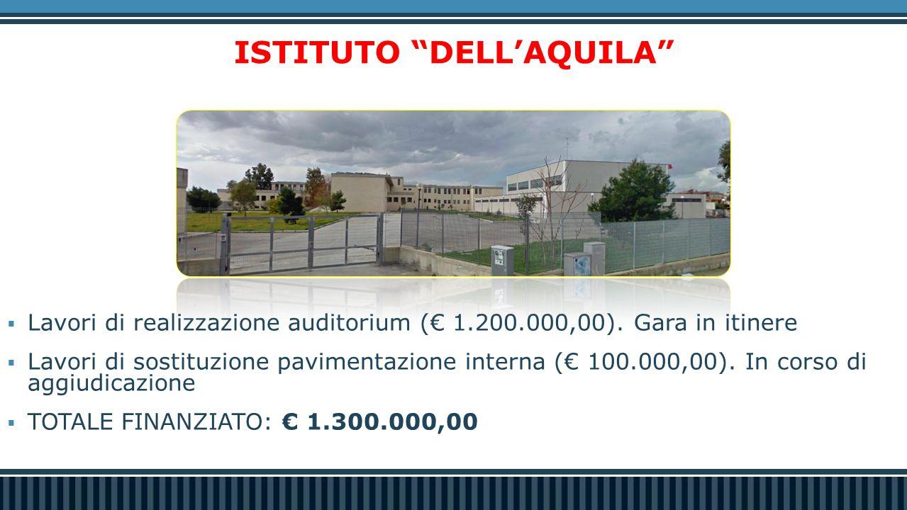 Istruzione  Gli Indirizzi Scolastici approvati dalla Regione Puglia dal 2010 ad oggi nelle scuole di San Ferdinando di Puglia.