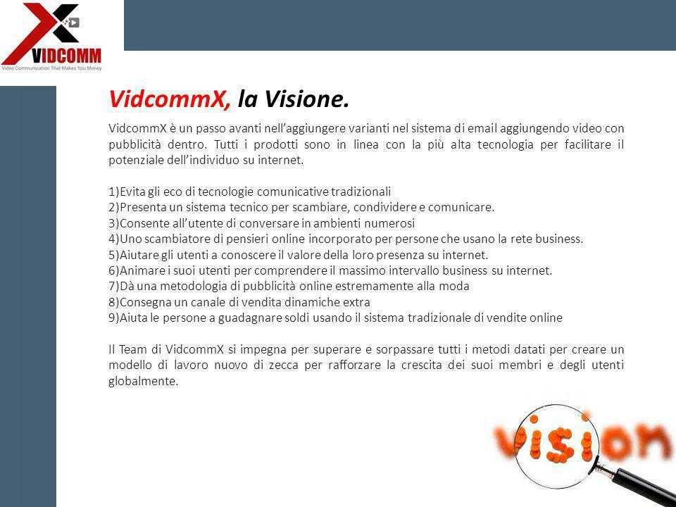 VidcommX è un passo avanti nell'aggiungere varianti nel sistema di email aggiungendo video con pubblicità dentro.