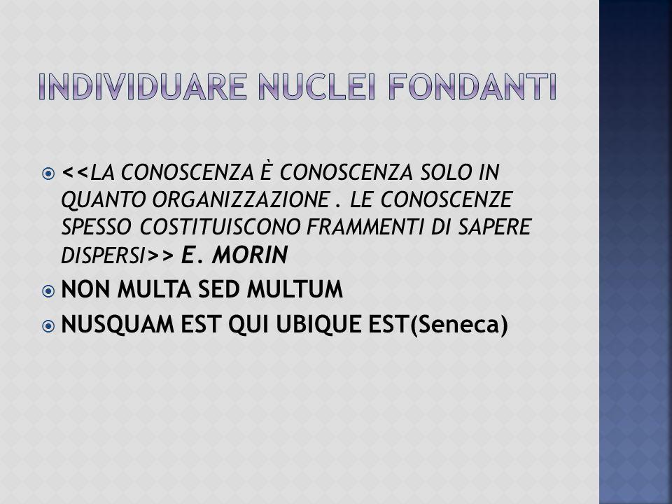 > E. MORIN  NON MULTA SED MULTUM  NUSQUAM EST QUI UBIQUE EST(Seneca)