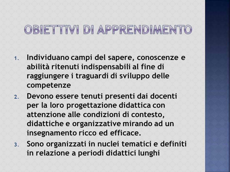  Convergenza di discipline, ciascuna con la propria specificità, su obiettivi didattici comuni
